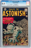 Silver Age (1956-1969):Science Fiction, Tales to Astonish #31 (Marvel, 1962) CGC VF 8.0 Off-white to whitepages....