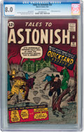 Silver Age (1956-1969):Science Fiction, Tales to Astonish #32 (Marvel, 1962) CGC VF 8.0 Off-white to whitepages....