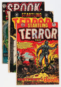 Golden Age (1938-1955):Horror, Startling Terror Tales/Spook Suspense and Mystery Group (StarPublications, 1952-53).... (Total: 3 Comic Books)