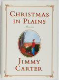 Books:Biography & Memoir, Jimmy Carter. SIGNED. Christmas in Plains. Simon andSchuster, 2001. First edition, first printing. Signed by ...