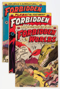 Golden Age (1938-1955):Horror, Forbidden Worlds Group (ACG, 1951-52).... (Total: 7 Comic Books)