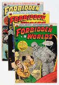 Golden Age (1938-1955):Horror, Forbidden Worlds Group (ACG, 1952-53).... (Total: 7 Comic Books)