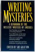 Books:Mystery & Detective Fiction, Sue Grafton [editor]. SIGNED. Writing Mysteries. Writer'sDigest, 1992. First edition, first printing. Signed by G...