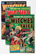 Golden Age (1938-1955):Horror, Witches Tales Group (Harvey, 1952-54) Condition: Average VG exceptas noted.... (Total: 12 Comic Books)