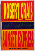 Books:Mystery & Detective Fiction, Robert Crais. SIGNED. Sunset Express. Hyperion, 1996. First edition, first printing. Signed by the author. Fine....
