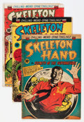 Golden Age (1938-1955):Horror, Skeleton Hand/Clutching Hand Group (ACG, 1952-54).... (Total: 4Comic Books)