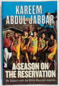 Books:Biography & Memoir, Kareem Abdul-Jabbar. SIGNED. A Season on the Reservation.Morrow, 2000. First edition, first printing. Signed by t...