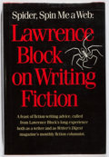 Books:Mystery & Detective Fiction, Lawrence Block. Spider, Spin Me a Web. Writer's Digest,1988. First edition, first printing. Minor rubbing and t...