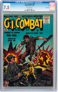 Golden Age (1938-1955):War, G.I. Combat #30 River City pedigree (Quality, 1955) CGC VF- 7.5Off-white pages....