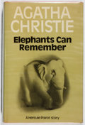 Books:Mystery & Detective Fiction, Agatha Christie. Elephants Can Remember. Crime Club, 1972.First edition, first printing. Slight lean. Toning. N...