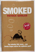 Books:Mystery & Detective Fiction, Patrick Quinlan. SIGNED. Smoked. Review, 2006. First Britishedition, first printing. Signed by the author. ...
