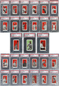 Baseball Cards:Sets, 1910 E98 'Set of 30' Baseball Near Set (27/30) - #1 on the PSA SetRegistry!...