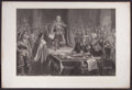 Prints, OLIVER CROMWELL DISSOLVING THE LONG PARLIAMENT. 17thcentury. 29-1/2 x 44 inches (74.9 x 111.8 cm). Engraved...