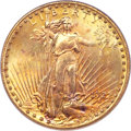 Saint-Gaudens Double Eagles, 1922-S $20 MS65 PCGS. CAC....