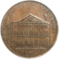 Colonials, 1797 PENNY New York Theatre PR64 Brown PCGS. CAC. D&H-Middlesex-167, Breen-1055, Rulau-E-NY-892, W-9080, R.6....