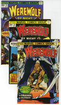 Bronze Age (1970-1979):Horror, Werewolf by Night Group (Marvel, 1975-77) Condition: AverageVF/NM.... (Total: 9 Comic Books)