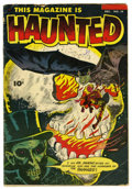 Golden Age (1938-1955):Horror, This Magazine Is Haunted #14 (Fawcett, 1953) Condition: GD/VG....