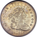 Early Dollars, 1798 $1 Small Eagle, 13 Stars AU50 PCGS. B-1, BB-82, R.3....