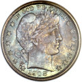 Barber Half Dollars, 1908-O 50C MS68 NGC....