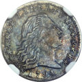 Early Half Dimes, 1794 H10C MS63 NGC. V-1, LM-1, R.6....