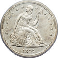 Seated Dollars, 1844 $1 MS63 PCGS. CAC. Breen-5431....