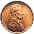 Lincoln Cents, 1909-S VDB 1C MS66 Red PCGS....