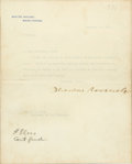 High Relief Double Eagles, Letter of President Theodore Roosevelt to Secretary of the TreasuryLeslie M. Shaw, Dec. 27, 1904. . ...