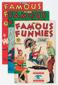 "Golden Age (1938-1955):Miscellaneous, Famous Funnies #136-139 Davis Crippen (""D"" Copy) pedigree Group (Eastern Color, 1945-46).... (Total: 4 Comic Books)"