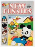 Golden Age (1938-1955):Funny Animal, New Funnies #94 (Dell, 1944) Condition: VF+....