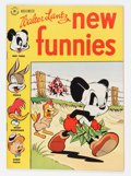 Golden Age (1938-1955):Funny Animal, New Funnies #129 (Dell, 1947) Condition: NM....