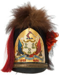 Militaria:Helmets, Governor's Foot Guard of Connecticut 1st Company Shako. ...