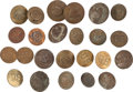 Military & Patriotic:Indian Wars, Large Lot of Twenty-Four Military Bridle Rosettes.... (Total: 24 )