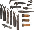 Arms Accessories:Tools, Lot of Seventeen Assorted Antique Gun Accessories. ... (Total: 9 )