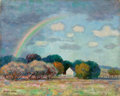 Western:Modern, PETER HURD (American, 1904-1984). Pennsylvania Landscape,circa 1928. Oil on canvas laid on board. 16 x 20 inches (40.6 ...