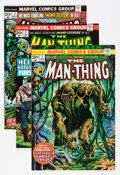 Bronze Age (1970-1979):Horror, Man-Thing Group (Marvel, 1974-79) Condition: Average NM-....(Total: 26 Comic Books)