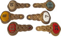 Militaria:Insignia, Lot of Six Officer's Epaulettes, Circa 1900. ... (Total: 6 Items)