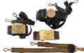 Militaria:Uniforms, Lot of Three U.S. Military Belts and Buckles. ... (Total: 3 )