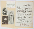 Autographs:Celebrities, Julia Dent Cantacuzène Spiransky-Grant (1876-1975, American Writerand Granddaughter of US Grant). Autograph Letter Signed. ...