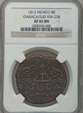 Mexico, Mexico: War of Independence Oaxaca 8 Reales 1813, ...