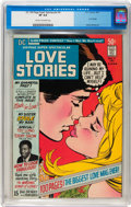 Bronze Age (1970-1979):Romance, DC 100-Page Super Spectacular #5 Love Stories (DC, 1971) CGC VF 8.0Cream to off-white pages....