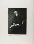 Books:Prints & Leaves, Gravure Portrait of Andrew Jackson from: The White House Galleryof Official Portraits of the Presidents. New York a...