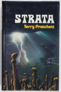 Books:Science Fiction & Fantasy, [Jerry Weist]. SIGNED. Terry Pratchett. Strata. St. Martin's, [1981]. First American edition. Fine. From the J...