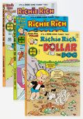 Bronze Age (1970-1979):Cartoon Character, Richie Rich and Dollar the Dog and Other File Copies Group (Harvey,1974-82) Condition: Average NM-....