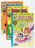 Modern Age (1980-Present):Humor, Richie Rich File Copies Box Lot (Harvey, 1979-88) Condition:Average NM-....