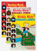 Silver Age (1956-1969):Humor, Richie Rich Dollars and Cents File Copies Box Lot (Harvey, 1966-82) Condition: Average NM-....