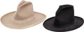 Western Expansion:Cowboy, Western Americana: Two Stetson Hats.... (Total: 2 Items)