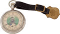 Western Expansion:Cowboy, Western Americana: Texas Ranger Watch and Fob....