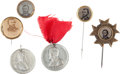Political:Ferrotypes / Photo Badges (pre-1896), Ulysses S. Grant: Campaign Badges and Tokens....