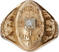 Football Collectibles:Others, 1952 Detroit Lions NFL Championship Ring Presented to Pat Harder....