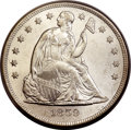 Seated Dollars, 1859-O $1 MS61 PCGS. CAC....